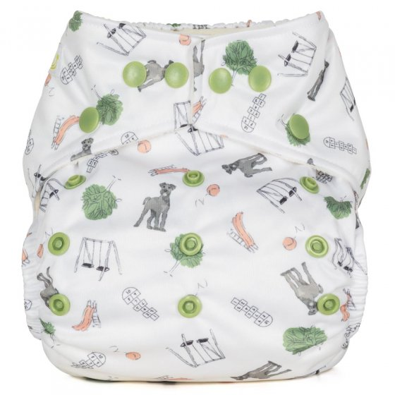 Baba + Boo One-Size Nappy - Outdoor Play