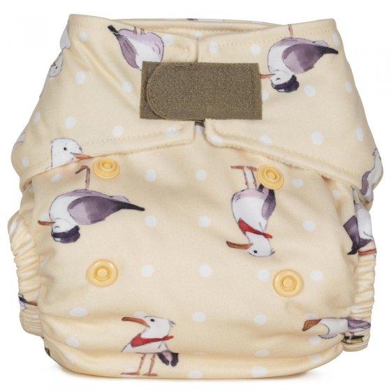 Baba + Boo Newborn Nappy - Seagulls