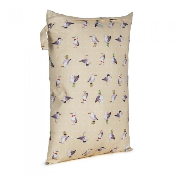 Baba + Boo Large Nappy Bag - Seagulls