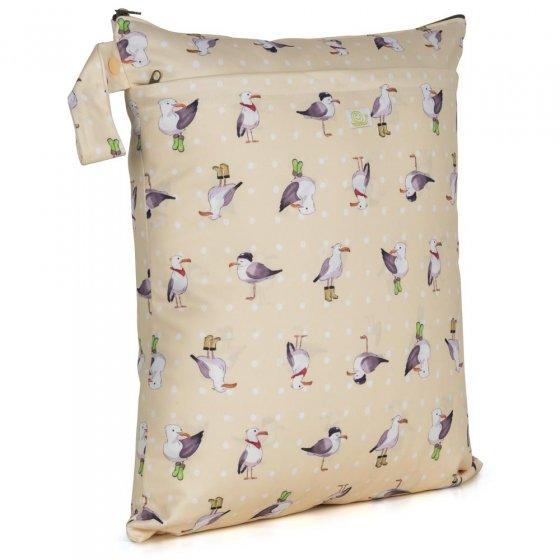 Baba + Boo Medium Nappy Bag - Seagulls