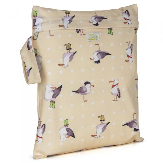 Baba + Boo Small Nappy Bag - Seagulls