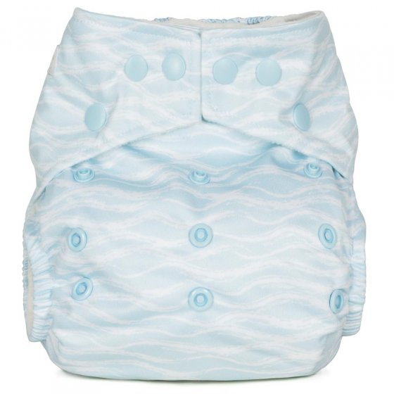 Baba + Boo One-Size Nappy - Waves