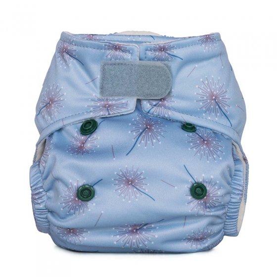 Baba & Boo dandelion print newborn nappy.