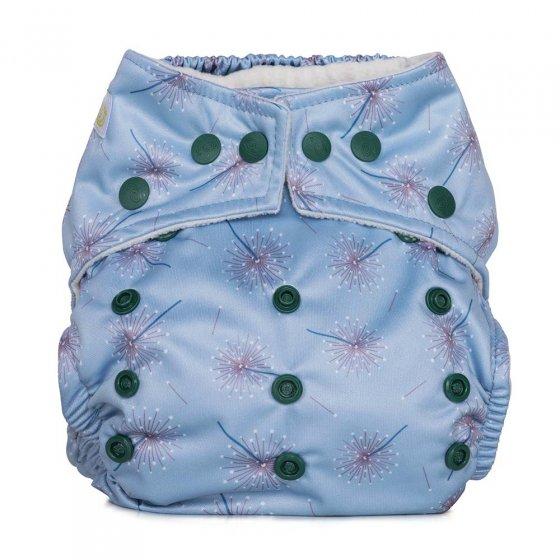 Baba & Boo dandelion one size pocket nappy.