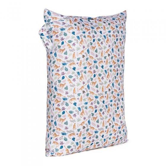Baba & Boo large nappy bag cheetah print.