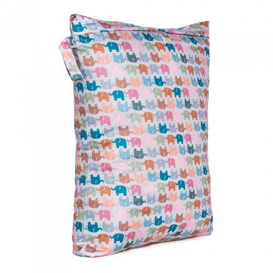 Baba & Boo elephant print large nappy bag.