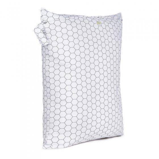 Baba and Boo large honeycomb print nappy bag.