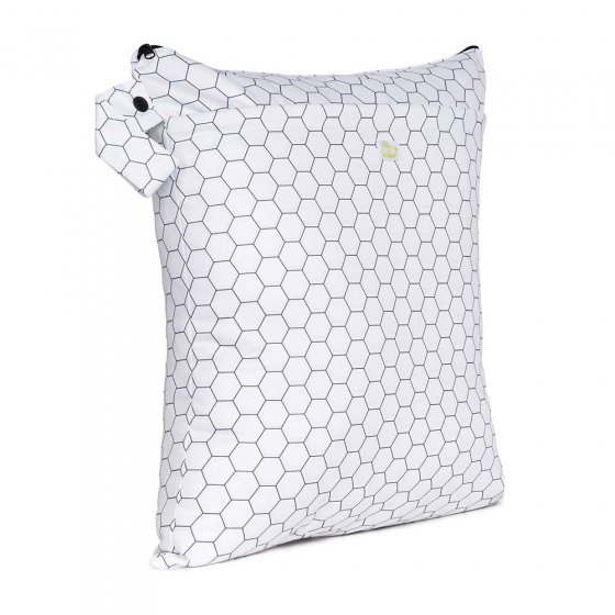 Baba & Boo honeycomb print  medium nappy bag.