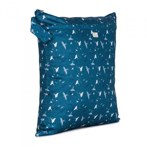 Baba & Boo swallow print medium nappy bag.