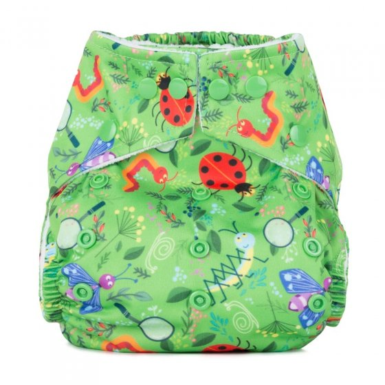 Baba + Boo One-Size Nappy - Nature Detectives