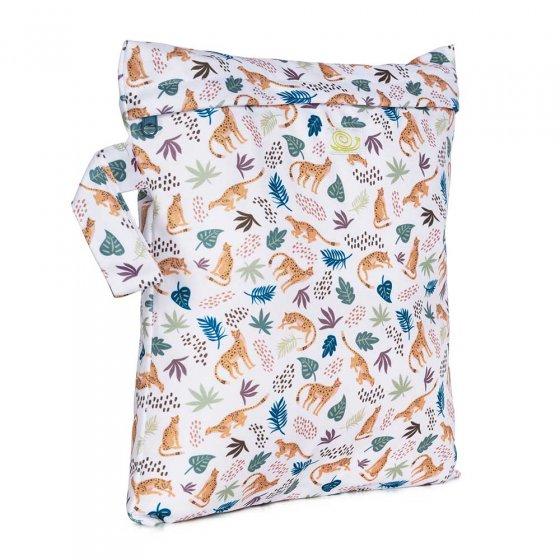 Baba & Boo small cheetahs print nappy bag.