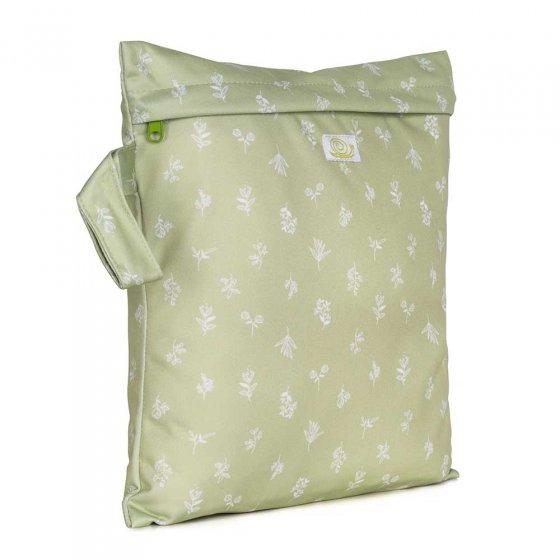 Baba & Boo saplings print small nappy bag.