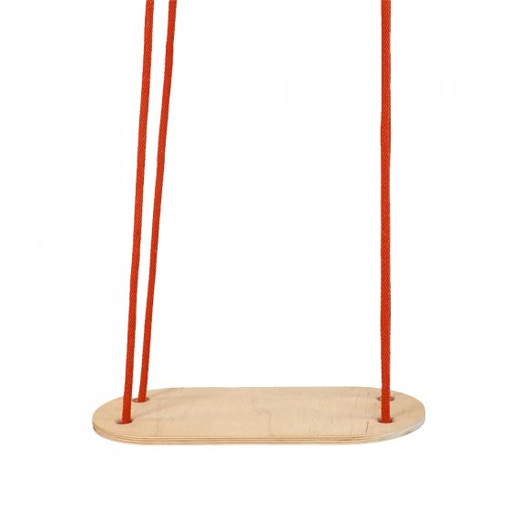 Babai terra transportable rope swing hanging on a white background