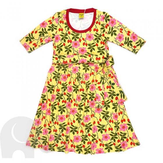 Duns Adult Rosehip High Waist Scoop Neck Dress