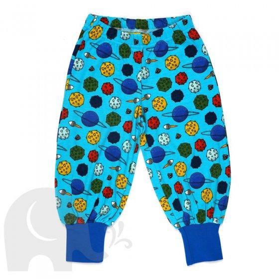 DUNS Planets Blue Atoll Baggy Pants