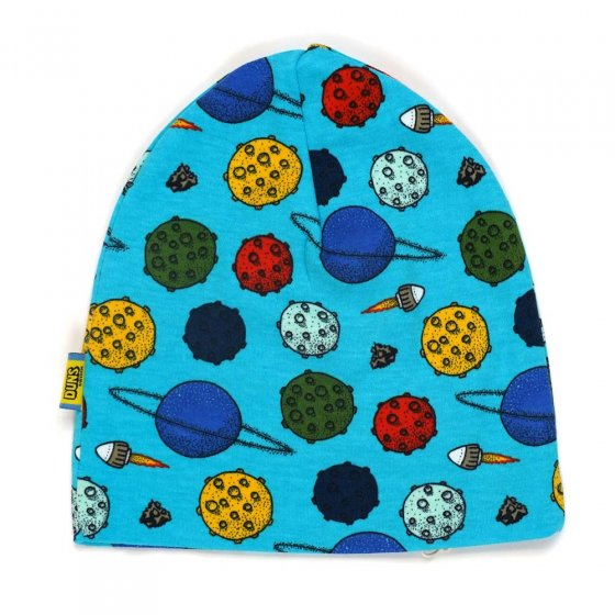 Duns Planets Blue Atoll Double Layer Hat