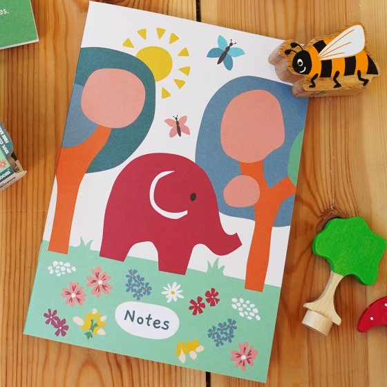 Babipur Garden A5 Notebook
