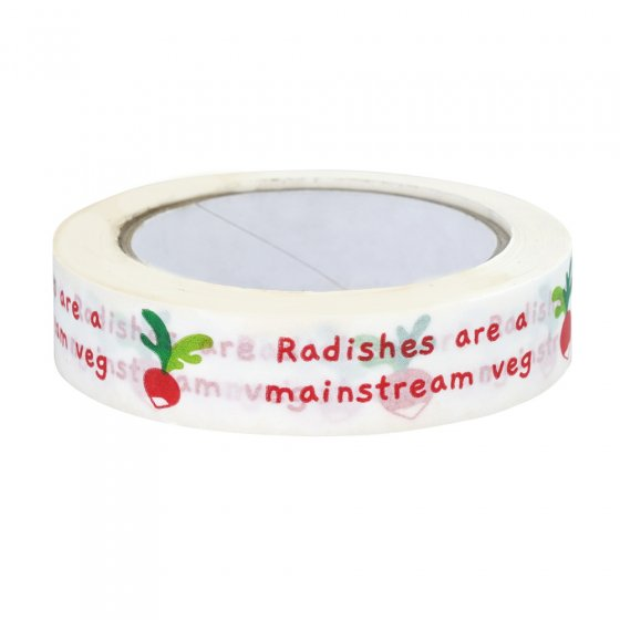 "Babipur ""Radish is a mainstream veg"" Paper Tape"