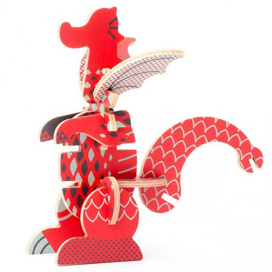 Tobe Dragon Fantasy Animals Puzzle