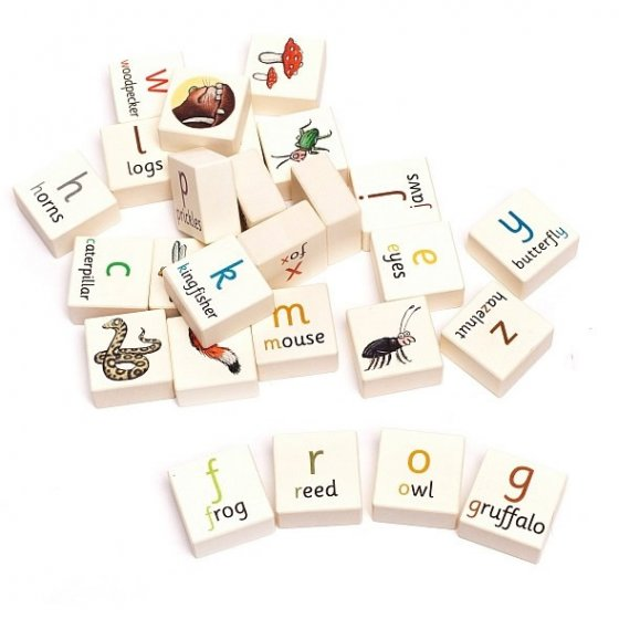 Bajo Gruffalo Alphabet Blocks