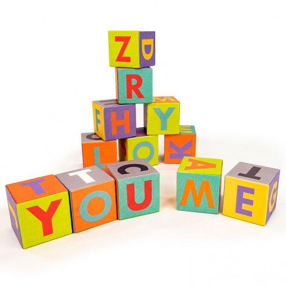 Bajo Me & You Alphabet Blocks