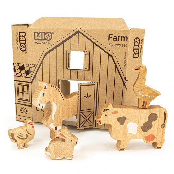 Bajo The Farm 14 Figure Set