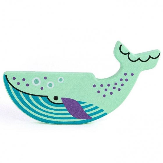 Bajo Endangered Animals Figures - Blue Whale