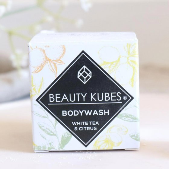 Beauty Kubes White Tea and Citrus Body Wash