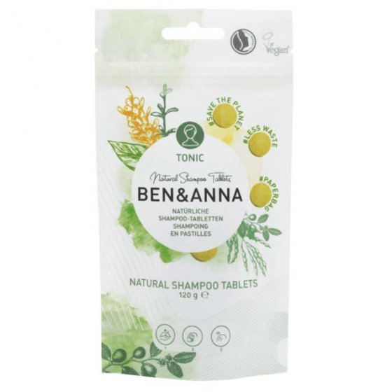 Ben & Anna Shampoo Tablets Tonic