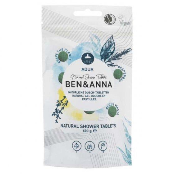 Ben & Anna Shower Tablets Aqua