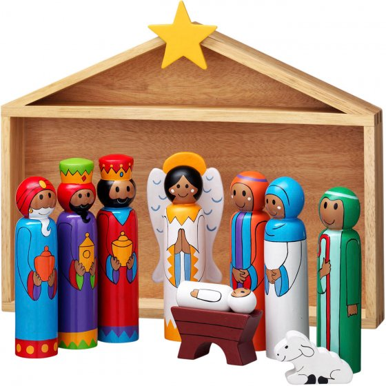DISC Lanka Kade Nativity Stable And 9 Characters
