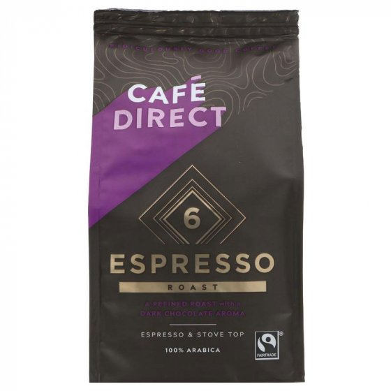 Cafédirect Arabica Espresso Ground Coffee