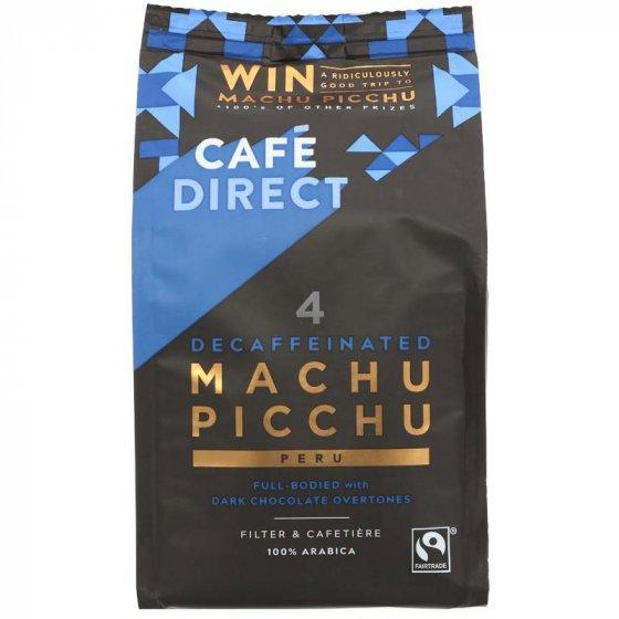 Cafédirect Decaffeinated Machu Picchu Ground Coffee