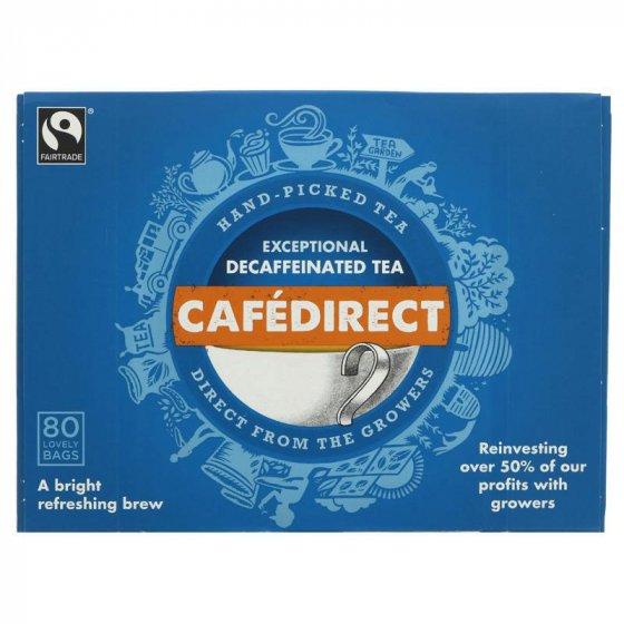 Cafédirect Everyday Decaff Tea - 80 Bags
