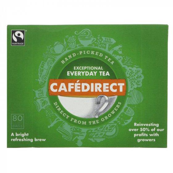 Cafédirect Everyday Tea Bags - 80 Bags