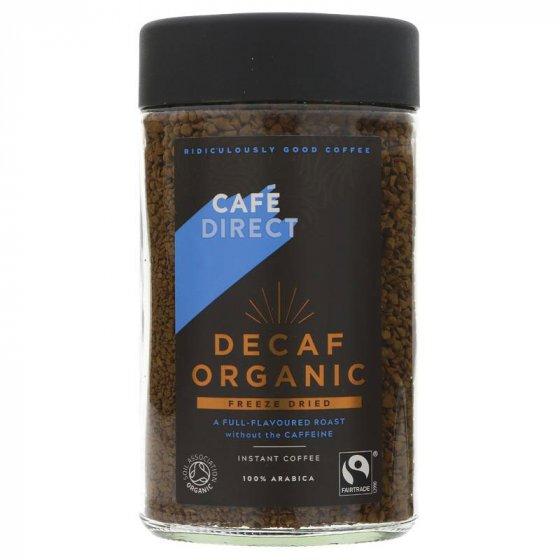 Cafédirect Instant Decaffeinated Organic Coffee