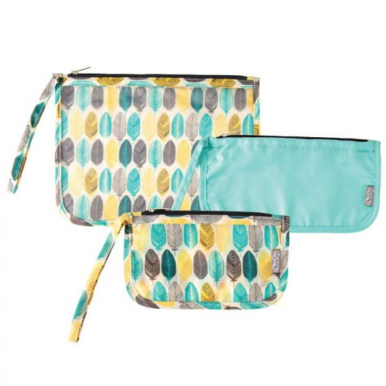 Chico Bag Travel Zip Bag 3 Pack - Feather