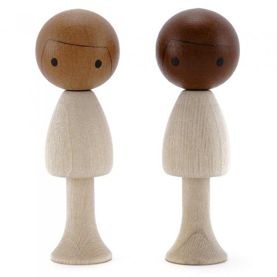 CLiCQUES DIY Short Hair Doll - Sam & Leo