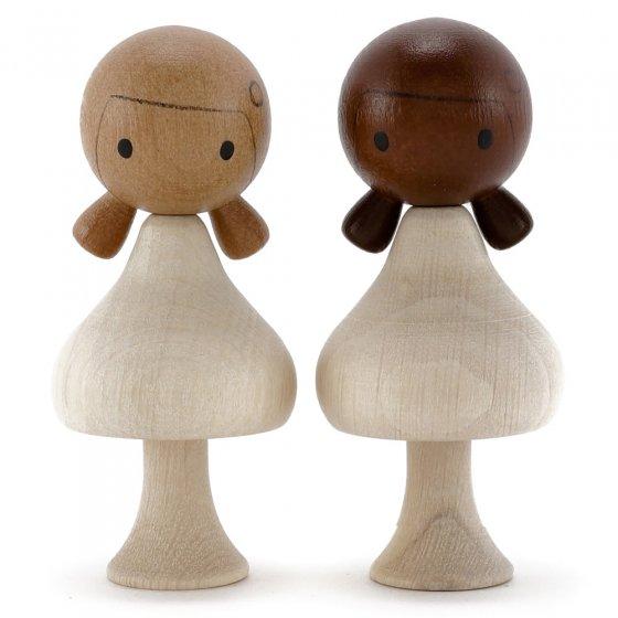 CLiCQUES DIY Long Hair Doll - Lola & Coco