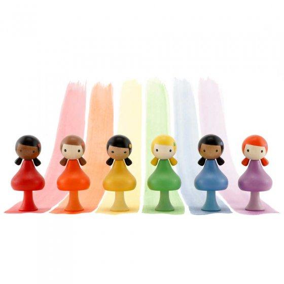 CLiCQUES Rainbow - Ebony, Maya, Yui, Alice, Jasmine & Lizzie
