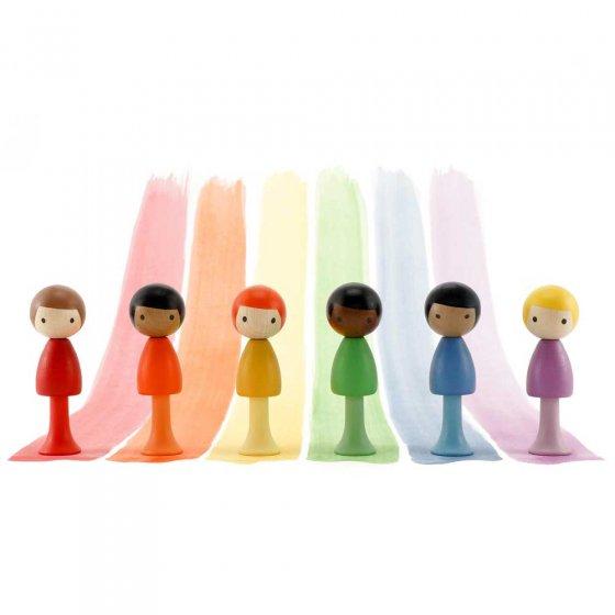 CLiCQUES Rainbow Andy, Rocco, Charles, Will, Riku & Pau