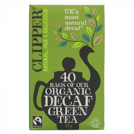 Clipper Decaffeinated Green Tea - 40 Bags