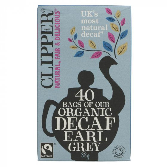 Clipper Earl Grey Decaffeinated Tea - 40 Bags