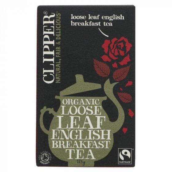 Clipper English Breakfast Organic – Loose Leaf 125g