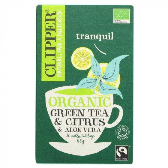 Clipper Green Tea With Aloe Vera - 20 Bags