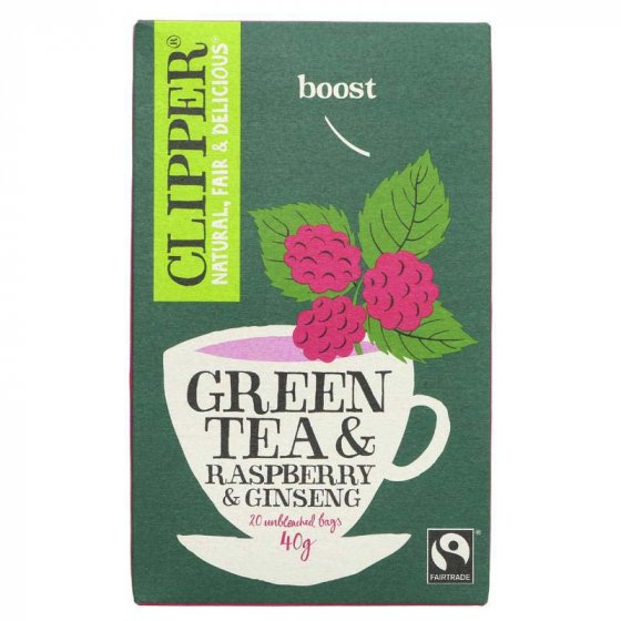 Clipper Green Tea With Ginseng - 20 Bags