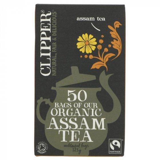 Clipper Assam Tea - Organic 50 Bags