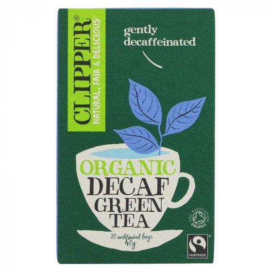Clipper Organic Green Decaf Tea - 20 Bags