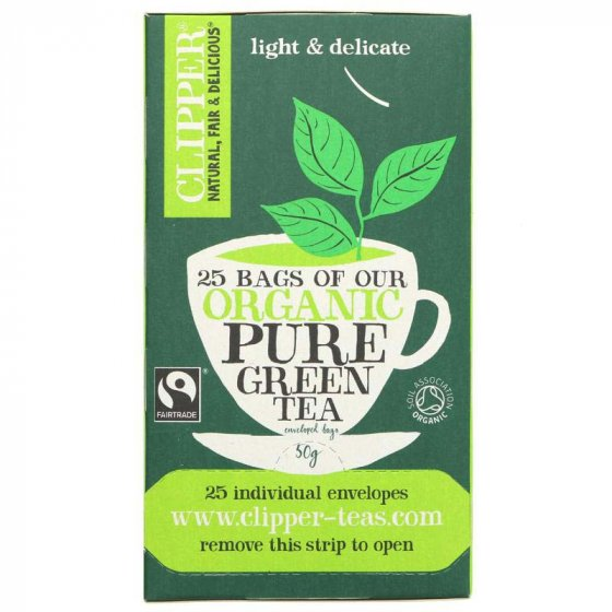 Clipper Organic Green Tea - 25 Bags