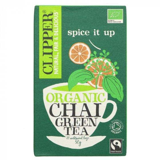 Clipper Green Chai Organic Tea - 20 Bags